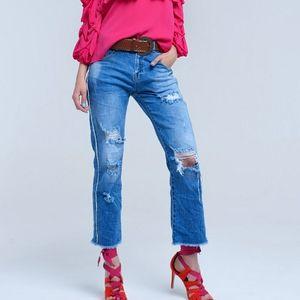 Q2 Premium Mom Jeans